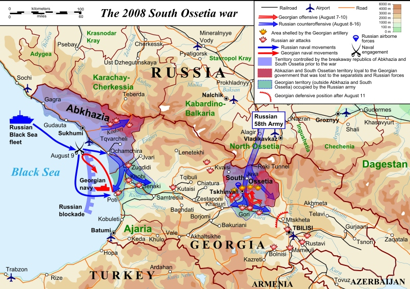 South Ossestia War