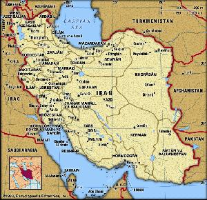 Modern Iran (click to enlarge image)